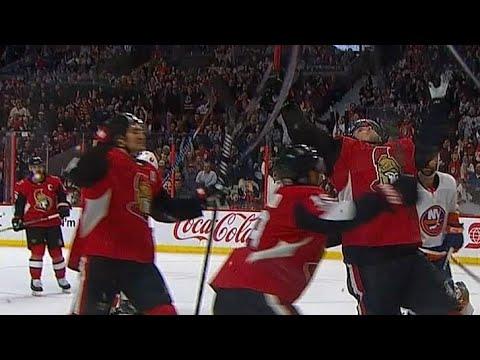 Duchene shovels in rebound for first goal with Senators