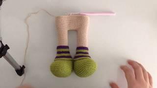 Amigurumi Bebek Yapımı 1 (Crochet Amigurumi Baby 1) - YouTube | 180x320