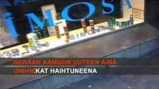 Anne  Mattila - Unihiekkaa (Karaoke)