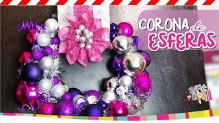 ❥DIY Christmas Ornament / Corona de esferas Thumbnail