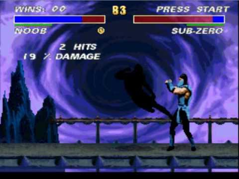 Mortal Kombat 3 Ultimate - SNES - Noob Saibot Brutality