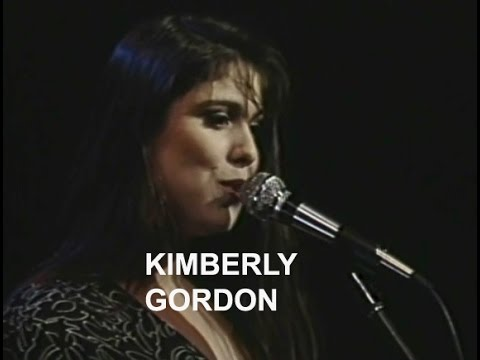 Chicago vocalist KIMBERLY GORDON on The JACK HUBBLE JAZZ SHOW (1992 cable access TV)