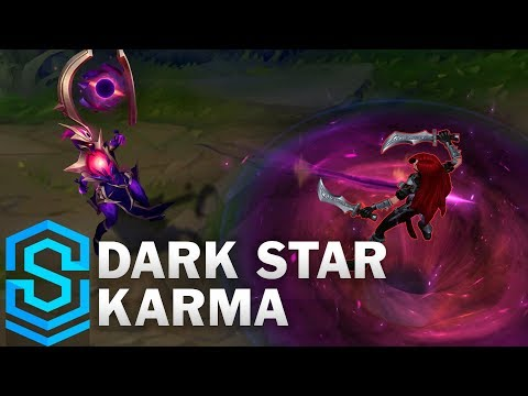 Dark Star Karma Skin Spotlight - League of Legends