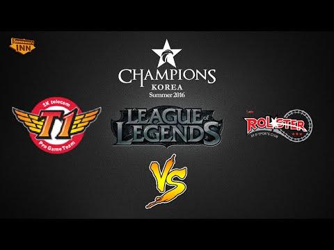 SK Telecom T1 vs. KT Rolster | LCK Summer Split 2016 | Playoffs Game 4