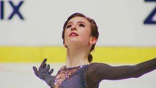 Дарья Усачева показала лучший результат в короткой программе! Croatia Cup