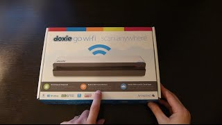 Doxie Go WiFi Unboxing and First Look