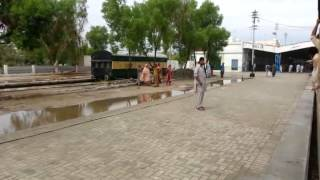 Sukkur Express Arrival at Sukkur Station 27 July 2