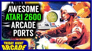 These Atari 2600 Arcade Ports Were Awesome | Friday Night Arcade