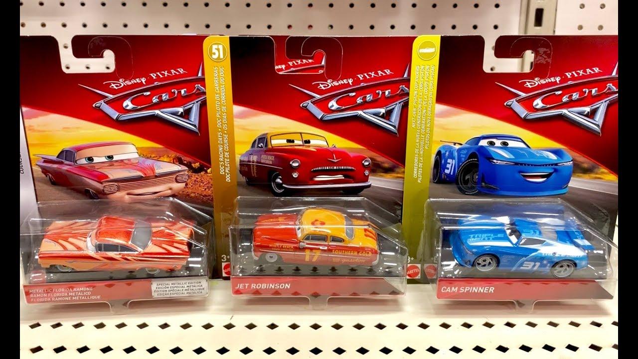 Super Rare Disney Cars Toy Hunt Metallic Florida Ramone Cam