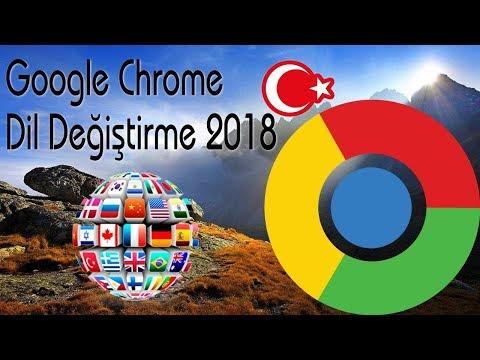 Google Chrome Dil Değiştirme Nasıl Yapılır 2018