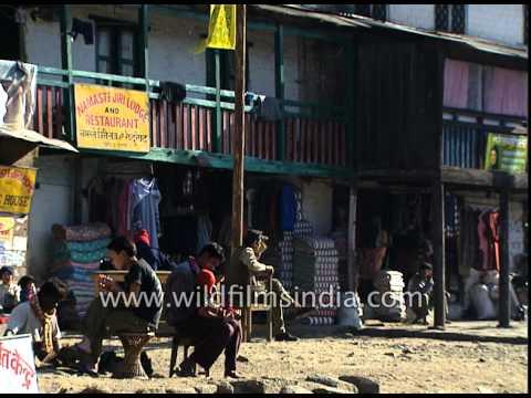Local market near Jiri village -Nepal