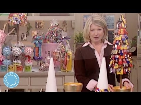 How To Make A Candy Topiary With Dylan Lauren Martha