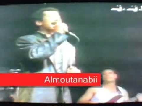Chab khaled salou aala nabi live tunisie 1991 - mp4