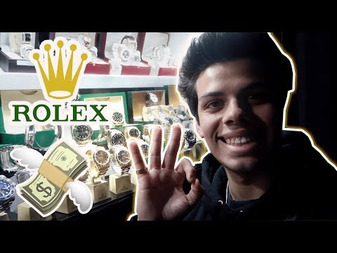 18 Year Old Hypebeast Buys a ROLEX! (IN CASH!)