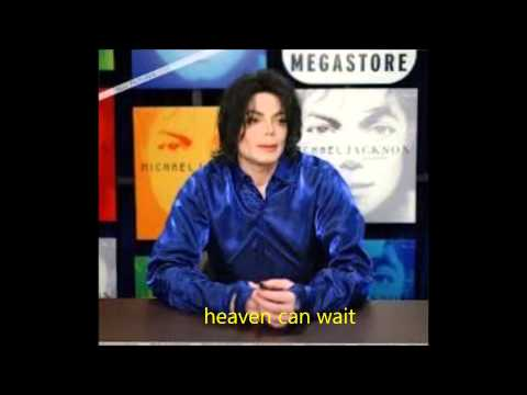 michael jackson - heave can wait 2013