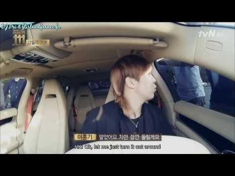 A car chase between Lee Hongki and FNC members