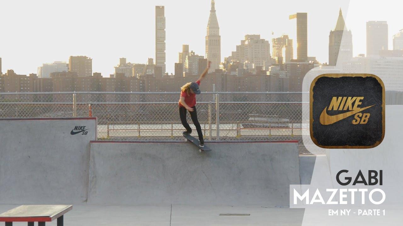 Gabi Mazetto em NY com Nike SB  APP   SB Parte 1 258ede