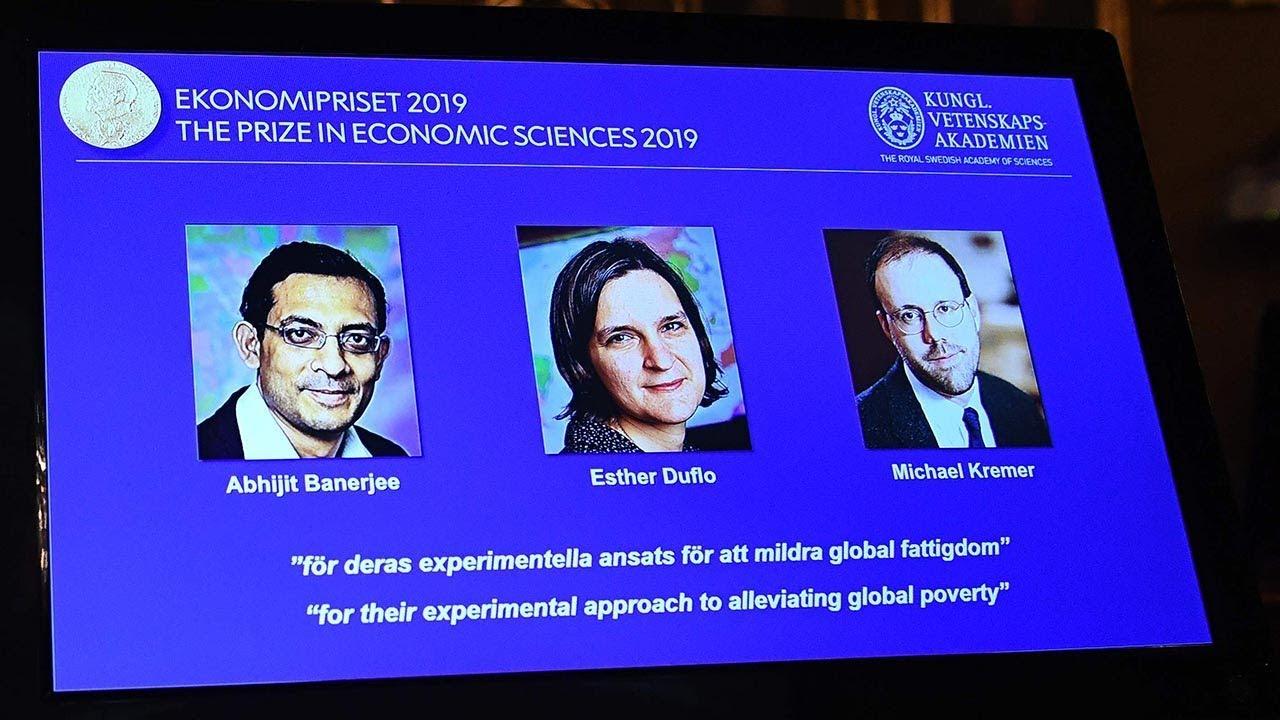 Tiga Ekonom AS, Dua di Antaranya Pasangan Suami Istri, Raih Nobel Ekonomi 2019