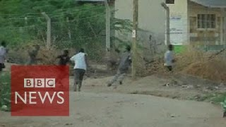 Kenya attack: Footage shows battle to end siege - BBC News