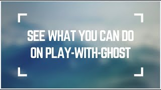 Introducing play-with-ghost: Try Ghost on the spot