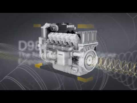 Liebherr   New D98 Diesel Engine Series(promocional)