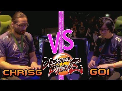 El DIOS de DRAGON BALL FIGHTERZ contra uno de los mejores TRUNKS del mundo!! GO1 vs ChrisG