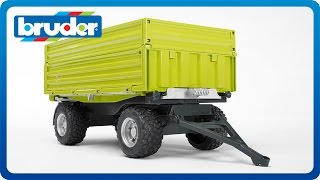 Bruder Toys Fliegl Three Way Dumper with Removable Top #02203