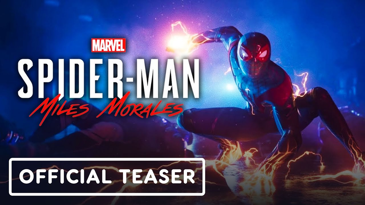 Marvel's Spider-Man: Miles Morales - Official Teaser Trailer