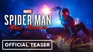 Marvel's Spider-Man: Miles Morales - Official Teaser Trailer