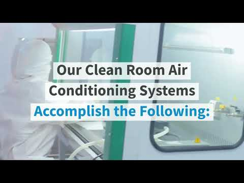 Clean Room Air Conditioning | Custom HVAC and Cleanroom Systems