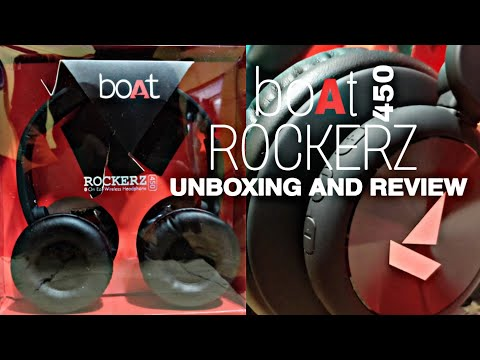 [unboxing] boAt Rockerz 450 wireless Headphones Unboxing and Review | Price, Review and Unboxing