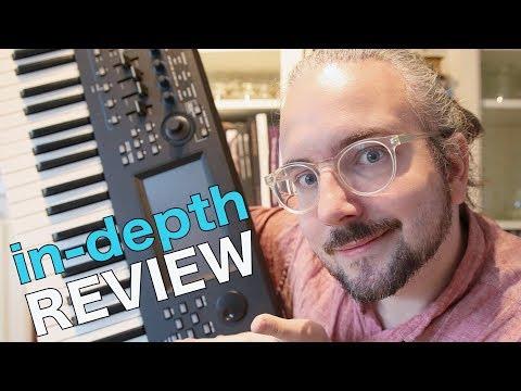 Yamaha MODX Synthesizer REVIEW + Sound Demo & Sound Design Tutorial