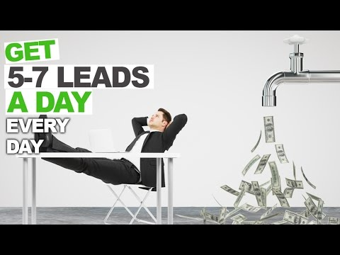Get 5-7 Leads a Day - Insiders Secret Revealed by a Successful Cleaning Compnay Franchisor