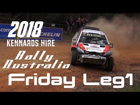 Kennards Hire Rally Australia 2018 - Friday Leg1