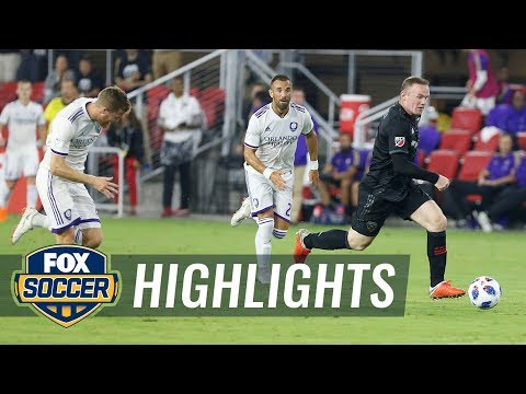 Wayne Rooney stops counterattack for Luciano Acosta hat trick | 2018 MLS Highlights