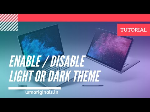 Get Windows 10 Light Theme Or Dark Theme For FREE? How To Activate Windows 10 Dark Mode 🐱🏍