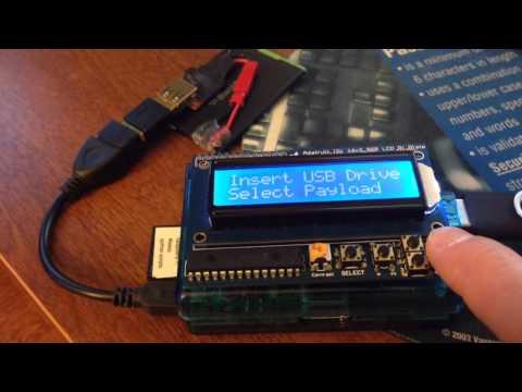 Raspberry pi USB attack platform