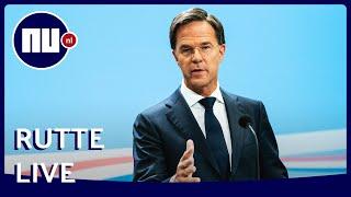 Premier mark rutte en minister hugo de jonge van volksgezondheid geven dinsdag vanuit den haag een update over coronasituatie in nederland. bekijk hier li...
