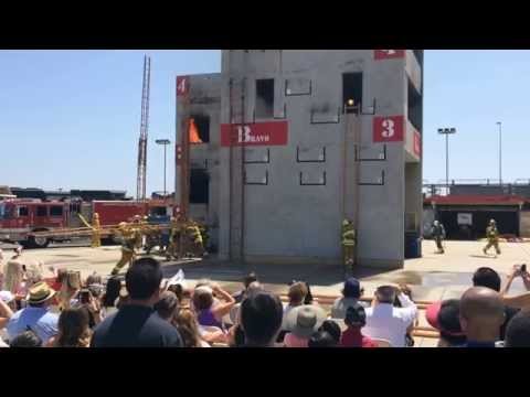 LAFD Graduating Class 14-2 Skills Demonstration
