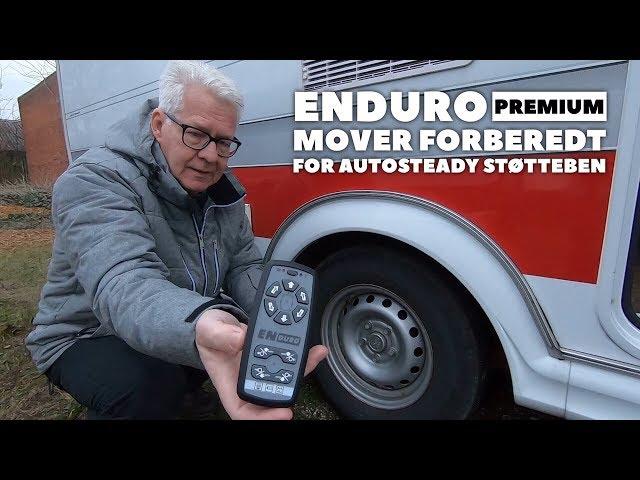 Enduro Premium mover med automatiske ruller og forberedt for Autosteady el-støtteben
