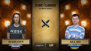 harleen vs Allad, StarLadder Hearthstone Ultimate Series