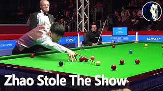 Young Zhao Xintong Surprises Ronnie O'Sullivan | 2016 English Open - Snooker