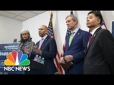 House Democratic Leaders Hold Press Conference | NBC News (Live Stream Recording)