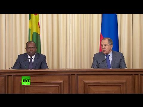 Пресс-конференция Лаврова и главы МИД Буркина-Фасо по итогам переговоров