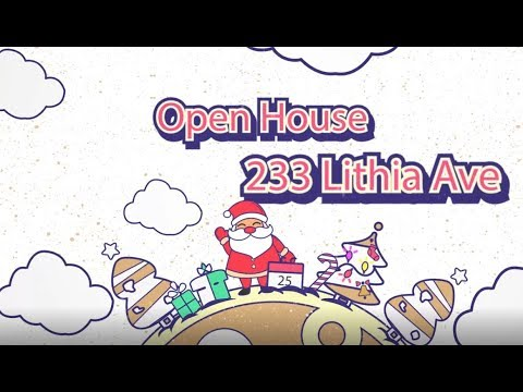 233 Lithia Avenue - Open House 12/9/18 from 1-3pm!