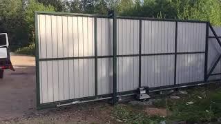видео Автоматические ворота Санкт-Петербург (СПб) | Купить автоматические ворота, монтаж, установка, цена