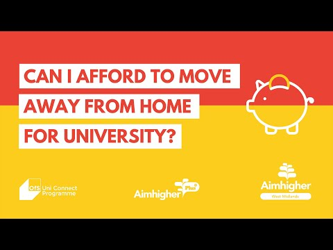 Can I afford to move away for university?
