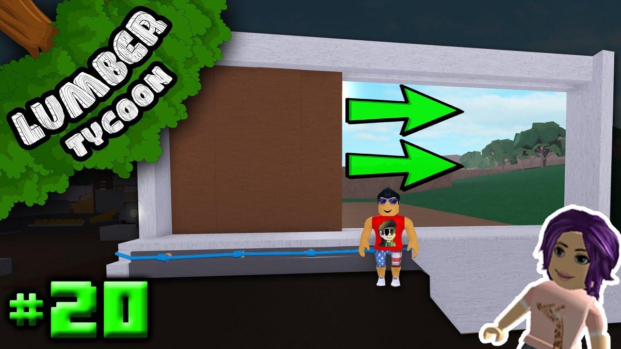 Lumber Tycoon Ep 20 Auto Sliding Garage Door W
