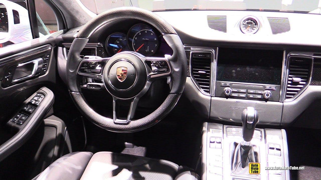 2017 Porsche Macan Turbo Interior Walkaround 2017 Geneva Motor Show Youtube