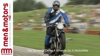 The Secret Of Doing A Wheelie On A Motorbike